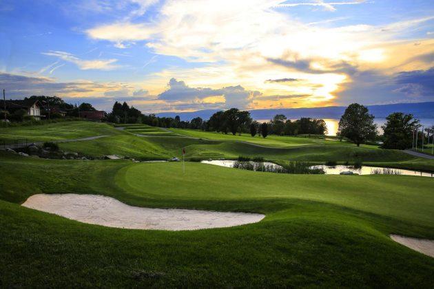 Hotel Ermitage Evian golfing