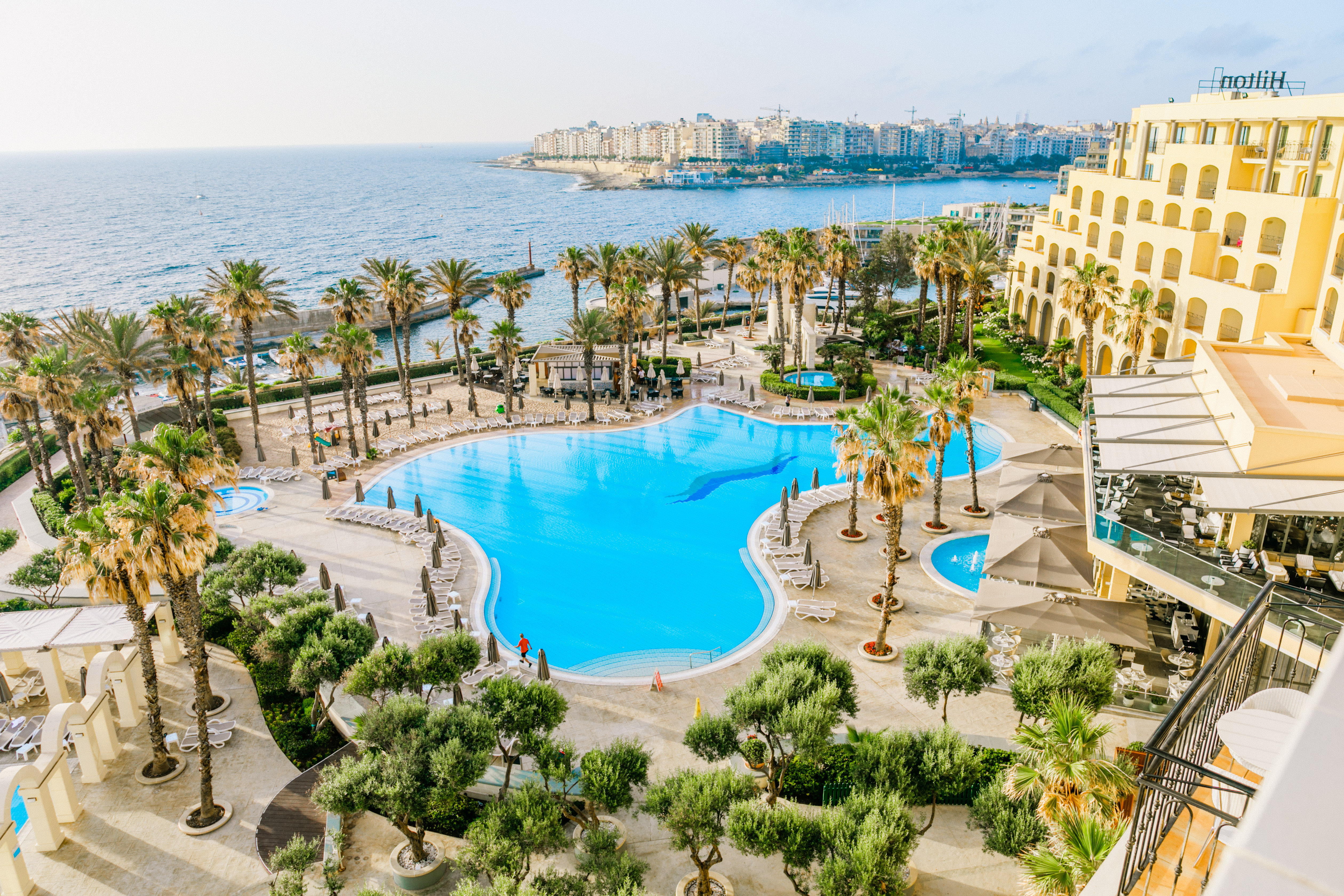 Hilton Malta luxtravellers luxury hotel review