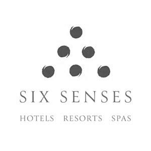 lux travellers clients six senses logo