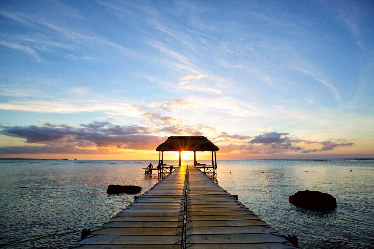 intercontinental mauritius beach