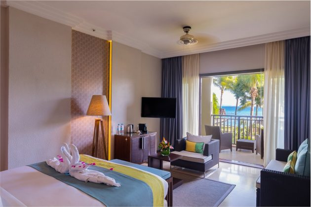 intercontinental mauritius bedroom